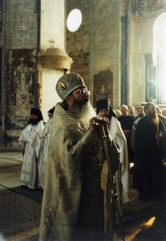 Игумен Валаамского монастыря архимандрит Панкратий: проповедь на престольный праздник, в верхнем храме Спасо-Преображенского собора. 19 августа 1997 года