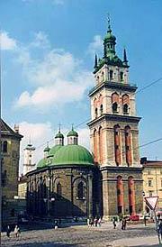 Успенская церковь Львовского братства (XVI–XVII вв.). Современное состояние.