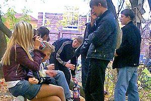 Основной целевой аудиторией рекламы алкоголя, размещенной в интернете, являются подростки