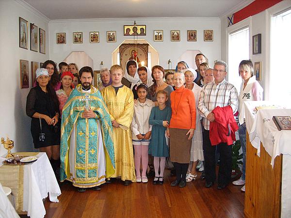 Прихожане Никольской Церкви в Рейкьявике