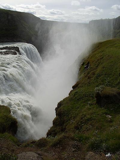 Исландия. Водопад Гуллфосс
