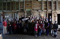 Все участники Литургии в Турчасово. 4 июля 2012 г. Фото: Иван Кудласевич