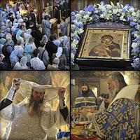Праздник Владимирской иконы Божией Матери в Сретенском монастыре 6 июля 2012 г.