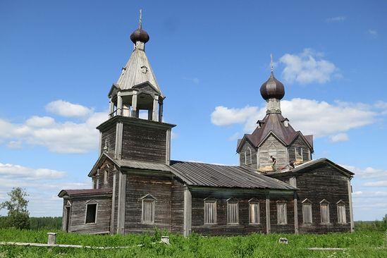 Дибров Владимир. Троицкий храм с. Мондино