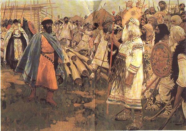 Князь Владимир, равноапостольный