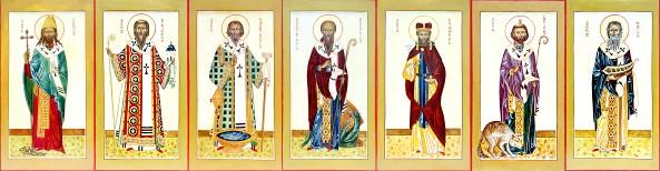 Иконы святых основателей Бретани