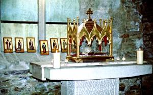 Мощи святых Бретани в аббатстве Бокен