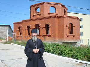 Настоятель храм Живоначальной Троицы поселка Врангель протоиерей Александр Жолобов уже несколько лет окормляет воспитанников колонии