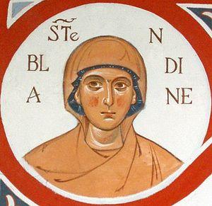 Святая мученица Бландина