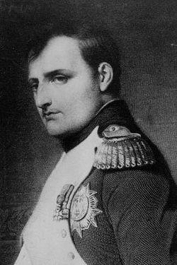Наполеон Бонапарт Портрер работы Delaroche Paul