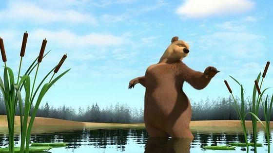 """Медведица из сериала """"Маша и Медведь"""""""
