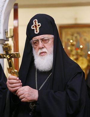 Patriarch Ilya II, Patriarch Catholicos of All Georgia.