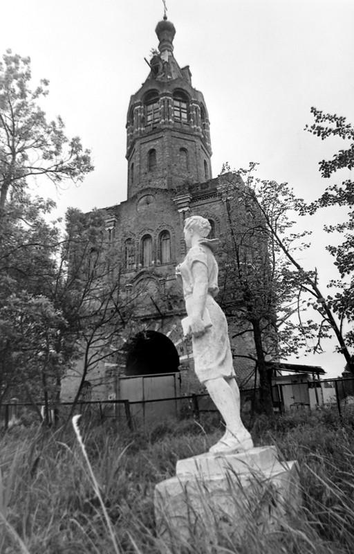 Зосимова пустынь (бывший пионерлагерь). 1994г. Фото: Геннадий Михеев
