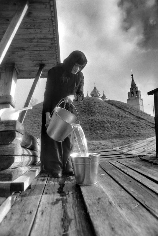 Троице-Сыпанов Пахомиево-Нерехтский монастырь. Костромская область,1993 г. Фото: Геннадий Михеев
