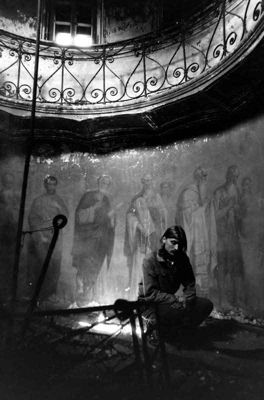 Подворье Валаамского монастыря. Москва, 1994 г. Фото: Геннадий Михеев