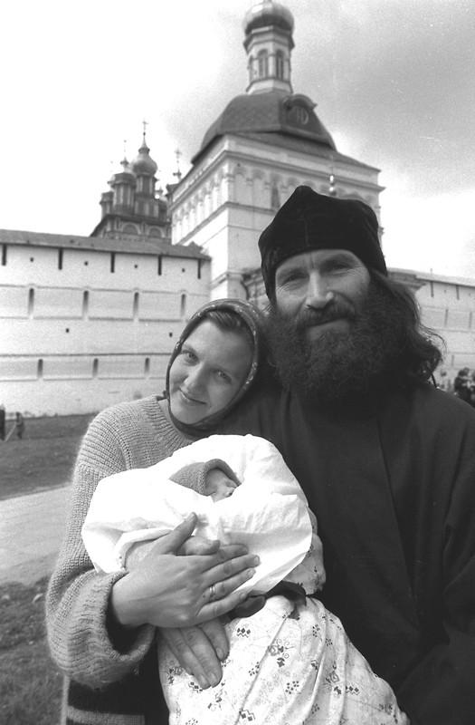 Троице-Сергиева лавра. Паломники. Фото: Геннадий Михеев