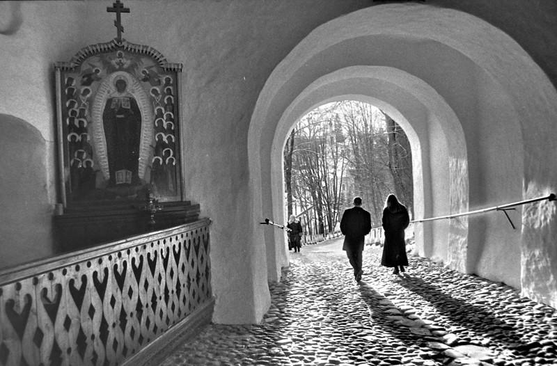 Псково-Печерский монастырь. 1999 г. Фото: Геннадий Михеев