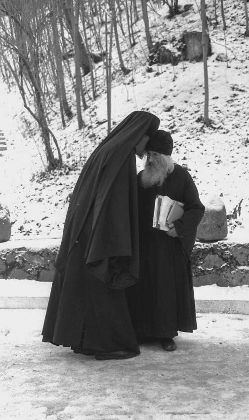 Псково-Печерский монастырь . 1999 г. Фото: Геннадий Михеев