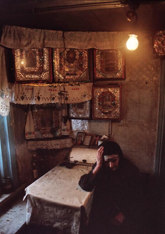 Деревня Любовь . Тамбовская область,1999 г. Фото: Геннадий Михеев