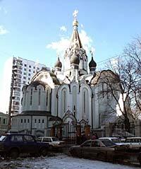 Воскресенский храм в Сокольниках