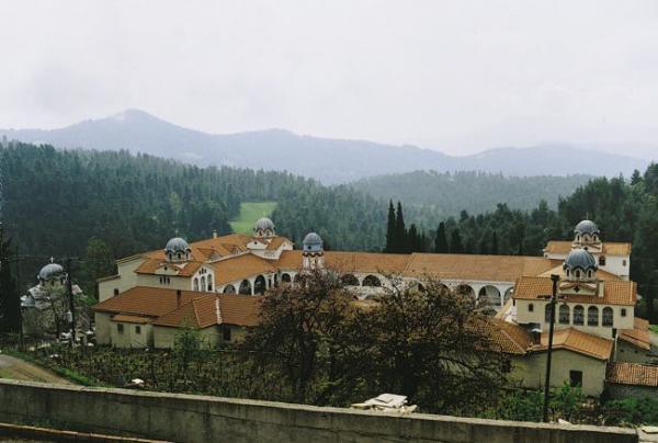 Монастырь преподобного Давида Эвбейского