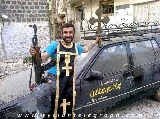 Архиерей подтвердил, что в Сирии в ходе боевых действий происходит разрушение христианских храмов, особенно много таких случаев в Хомсе. Владыка Лука отметил, что большинство преступников, совершающих нападения на храмы, глубоко невежественны, они просто не представляют их исторической ценности и духовной значимости. «Это неграмотные люди, и их используют для варварских действий», – подчеркнул он, заметив, что многие боевики являются не сирийскими гражданами, а иностранными наемниками, в том числе прибывшими из США, имеющими опыт участия в боевых действиях в Ливии.