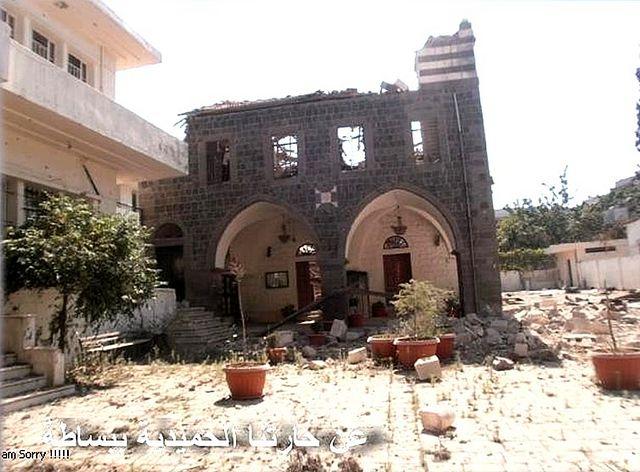 Храм св.вмч. Георгия и школа при нем. Многие из храмов были разорены и сожжены, в частности храм Георгия Победоносца и храм Пояса Богородицы.