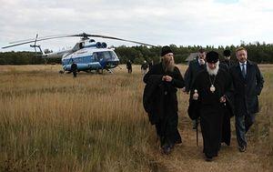 Патриарший визит на Соловецкие острова, 20 августа 2010 года, фото Артем Никитин