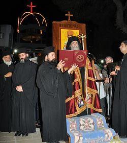 71954.p Всемирното Православие - НА ПЛАНИНАТА ТАВОР БЕШЕ ОТСЛУЖЕНО ПРАЗНИЧНО НОЩНО БОГОСЛУЖЕНИЕ