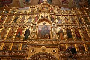 Иконостас храма, который уже называют самым большим за Уралом