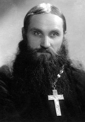 Отец Николай в молодости