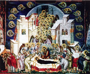 The Dormition of the Mother of God.