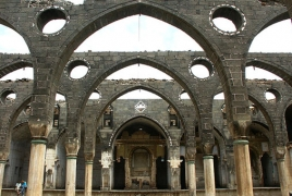 Bell-tower of Armenian church in Turkey back after 97 years