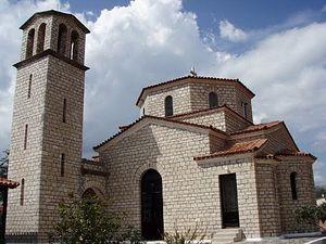 Храм в честь Космы Этолийского в его родном селении
