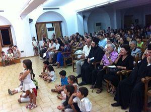 Праздник, посвященный Косме Этолийскому на Крите (август 2012 года)