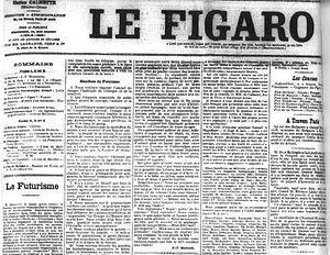 Статья о пророчествах Космы Этолийского во французской газете Фигаро