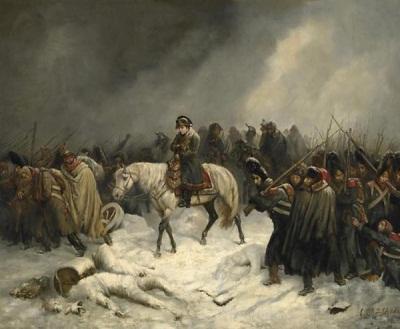 А. Нортерн Отступление Наполеона из Москвы. 1851 г.