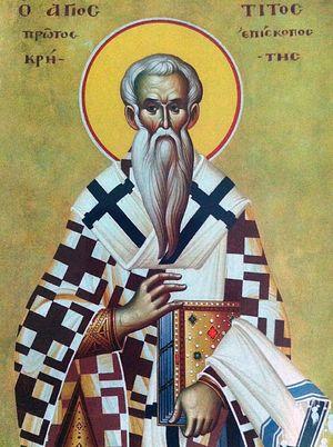 Картинки по запросу Апостол от 70-ти Тит Критский, епископ