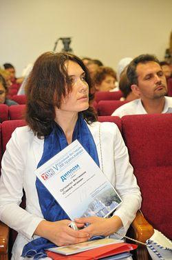 Учредитель фестиваля - главный редактор православного семейного журнала «Фамилия» Наталья Горошкова
