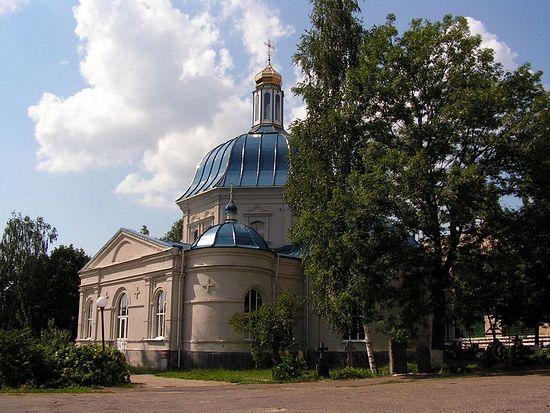 Марков монастырь. Казанская церковь, июль 2011