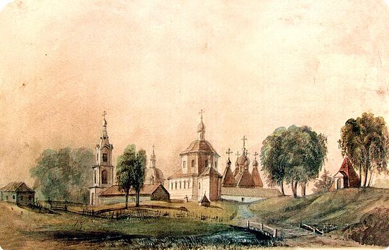 Марков монастырь. Худ. Дмитрий Струков, 1864