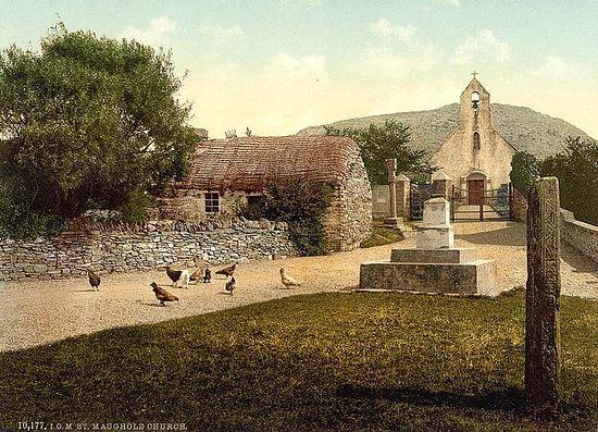 Церковь святого Маугхольда, остров Мэн