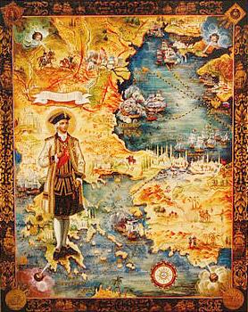 Святой Федор Ушаков. Современная икона