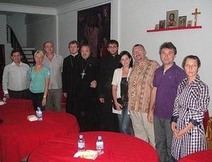 Учредители православного прихода святого великомученника и целителя Пантелеимона в г. Сиануквилле (Камбоджа)