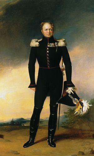 Император Александр I. Портрет Царя Освободителя (автор: Джордж Дэйв)