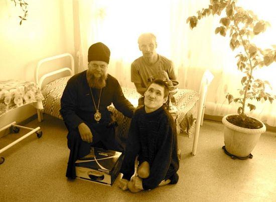 В Дубровинском психоневрологическом интернате. Сегодня здесь живут 245 человек. 6 августа 2012 г.