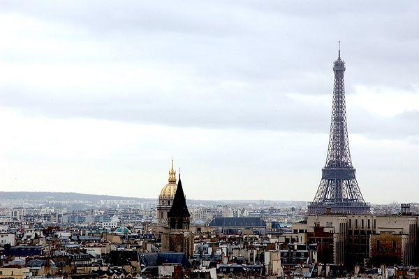 Париж почему можно взять эту тему