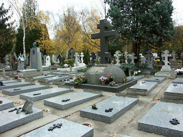 Русское кладбище под Парижем