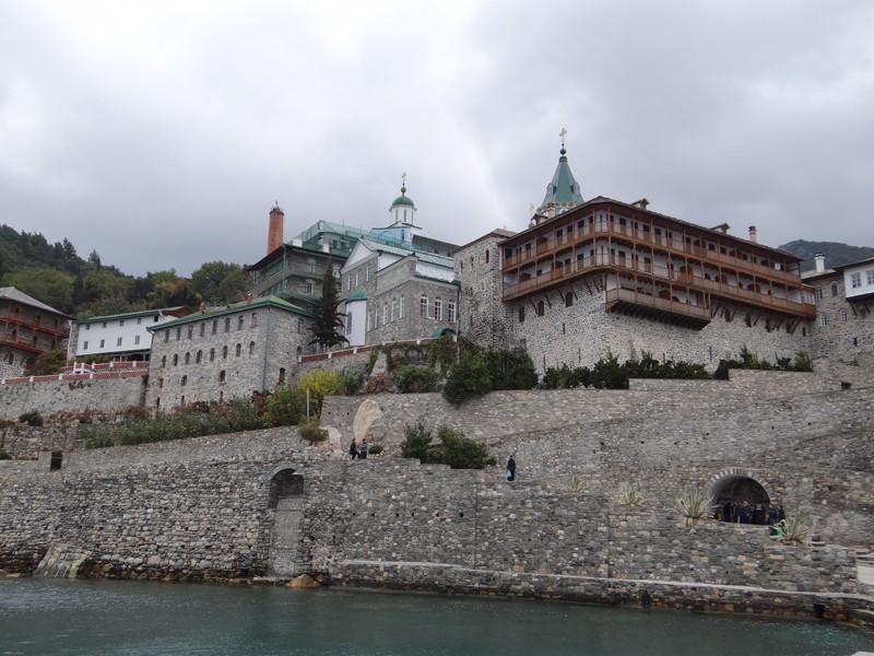 Афон. Монастырь святого Пантелеимона. Фото: протоиерей Василий Бирюков