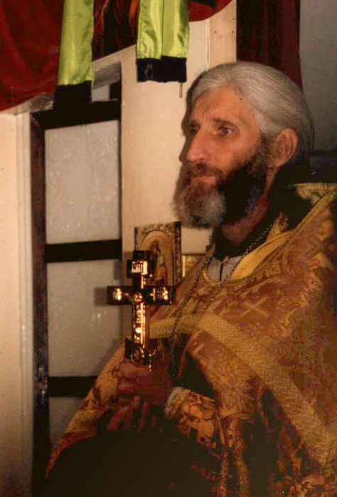 Priest Igor Rozin, murdered in his church after the Liturgy on May 13, 2001.
